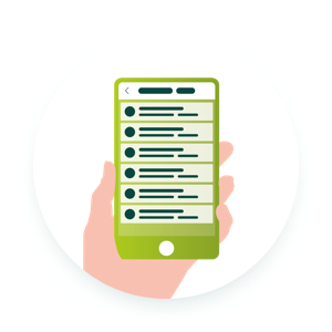 Mobile invoicing of services via the App