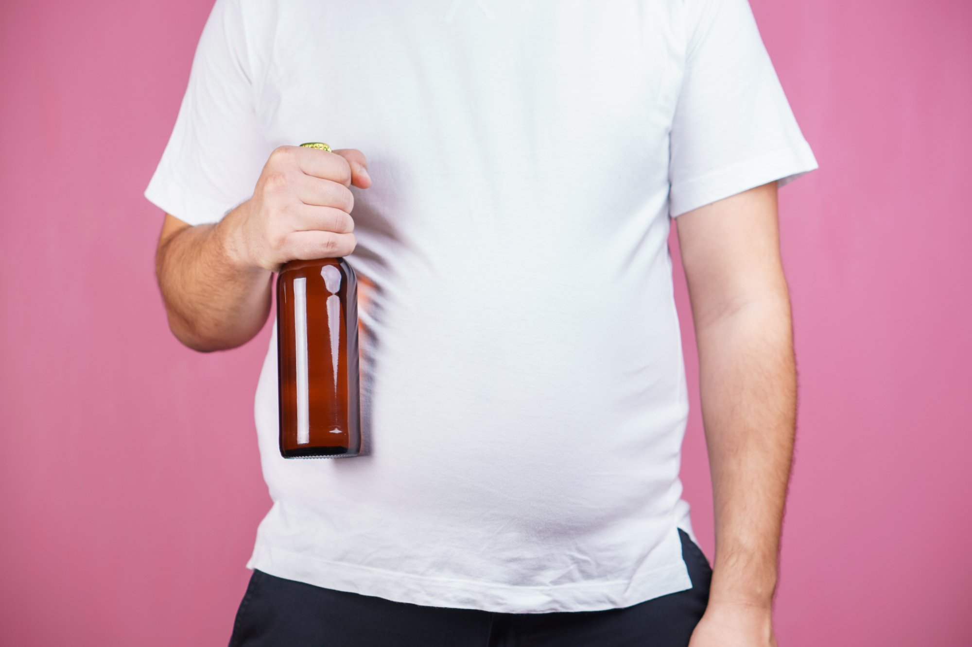 Is the beer belly really a result of drinking beer?